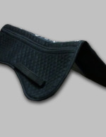 Product Black Cotton Half Pad