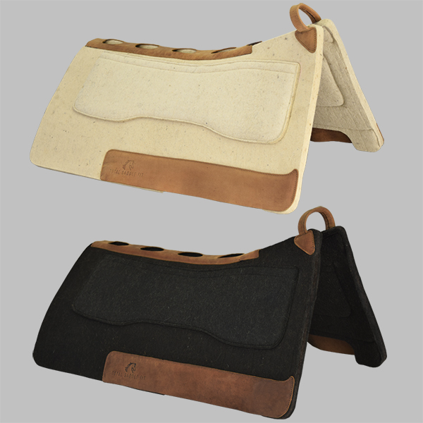 western-saddle-pad-black-cream-main-image